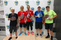 Men's Doubles 4.0, 50+Steve Bennett/John Freeman - Bronze