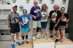 Mixed Doubles 3.0, 60+Katinka Nanna/Richard Cary - GoldSharman Owings/Gary Poor - SilverPam Woodruff/Jim Deckman - Bronze
