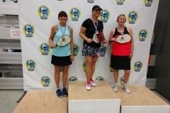 Women's Singles 3.5, 50+Tricia Stratton - Gold