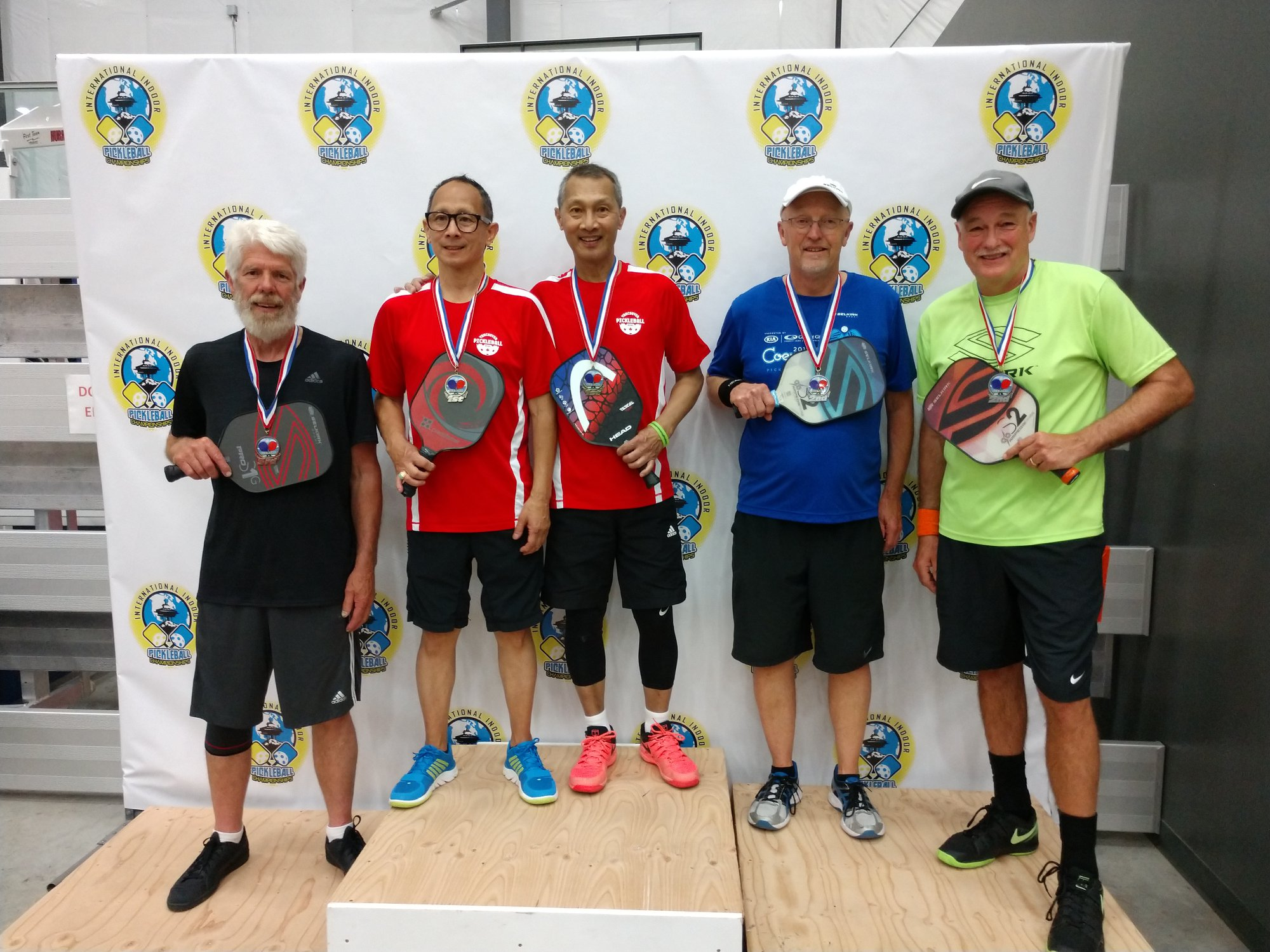 Men's Doubles 4.0, 50+Steve Bennett/John Freeman - Bronze
