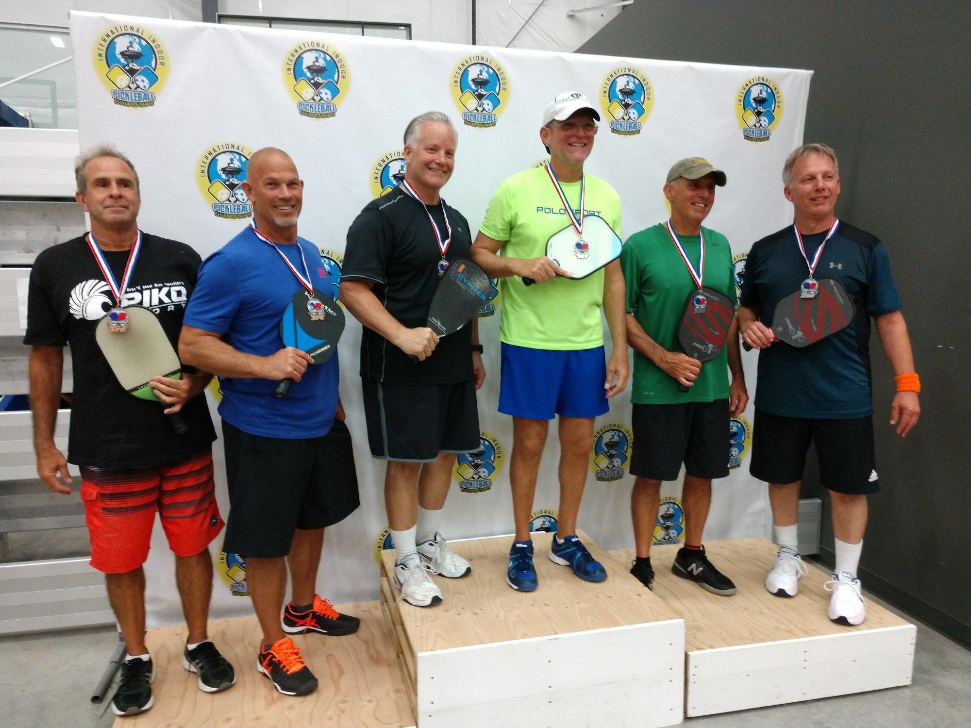 Men's Doubles 4.0, 50+Arvo Johnson/Lance Hunt - Silver