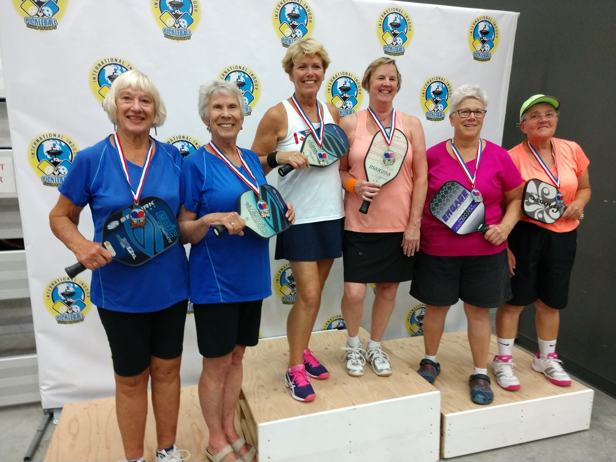 Women's Doubles 4.0 & 4.5: 60+ Jeannie Ramsey/Beverly Hoffman - Bronze