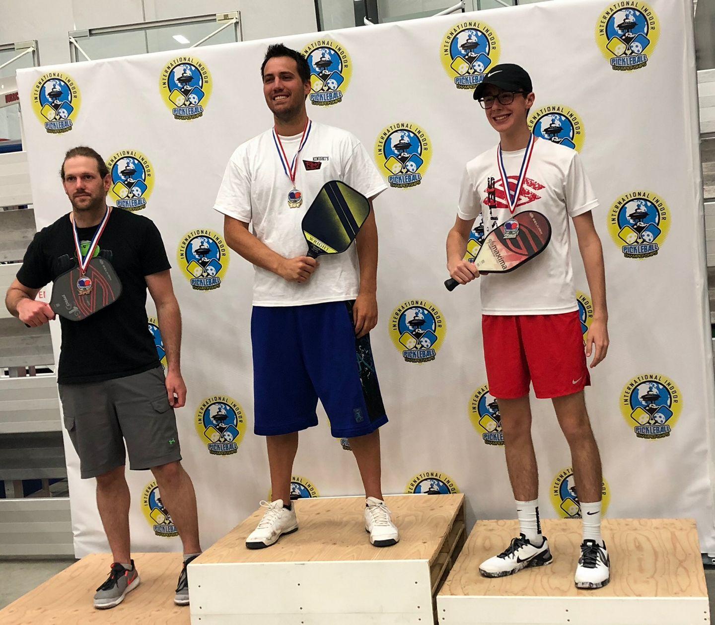 Men's Singles 3.5, 19+Damon Little - Silver