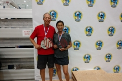 Mixed Doubles 3.5, 60+Ruby Pugh/Charlie Pugh - Bronze