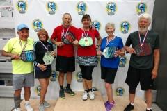 Mixed Doubles 4.0, 60+Beverly Hoffman/Steve Bennett - SilverBob Sester/Elizabeth Whelan - Bronze